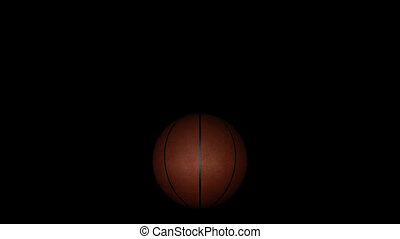 Animation basketball