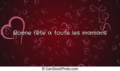 Animation Bonne fete a toute les mamans, Happy Mother's day...