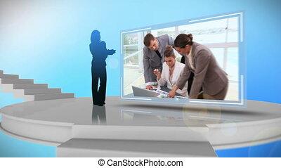 animation, business, vidéos