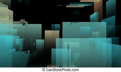 animation, cubique