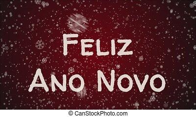 Animation Feliz Ano Novo 2019 - Happy New Year in portuguese...