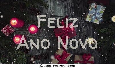 Animation Feliz Ano Novo 2019 - Happy New Year in...
