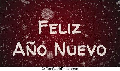 Animation Feliz Ano Nuevo 2019 - Happy New Year in spanish...