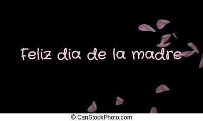 Animation Feliz dia de la madre, Happy Mother's day in...