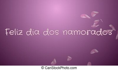 Animation Feliz dia dos Namorados, Happy Valentine's day in...