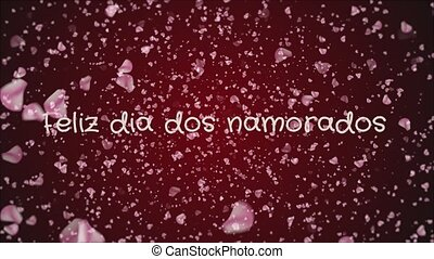 Animation Feliz dia dos Namorados, Happy Valentine's day in...