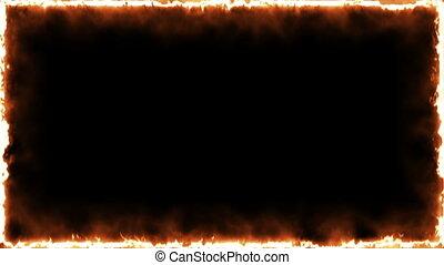Animation Fire Frame