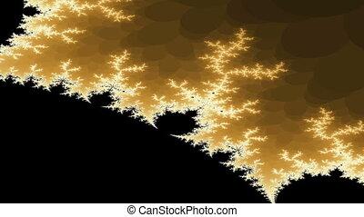 animation, fractal, zoom, numérique