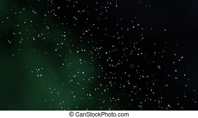 Animation galaxy zoom abstract background. Stars on black...