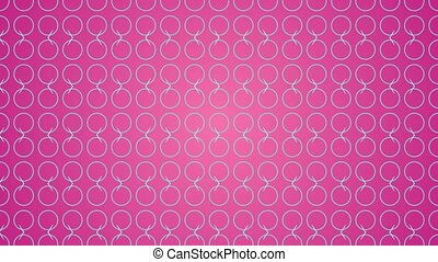 Animation gradient background with circle and lines -...
