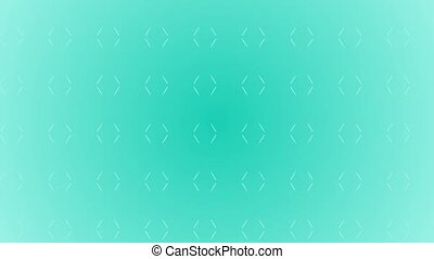 Animation gradient background with moving lines. Blue and...