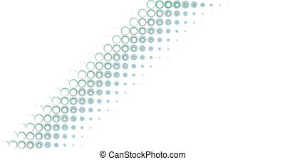 circle transition abstract background - animation in flat...