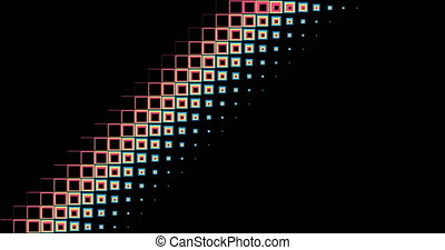 rectangles transition abstract background. - animation in...