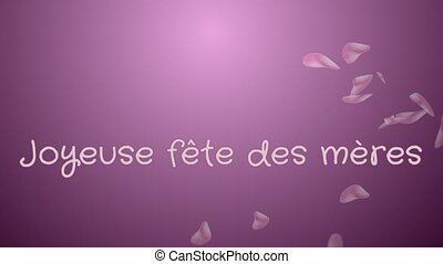 Animation Joyeuse fete des meres, Happy Mother's day in ...