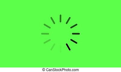 loading circle icon background - animation - loading circle...