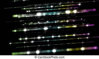 animation, lumière, vidéo, raie, technologie, futuriste