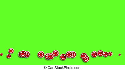 animation modern abstract repeat icons motion background. -...