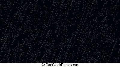 animation, -, modern, fallenden regen, hintergrund
