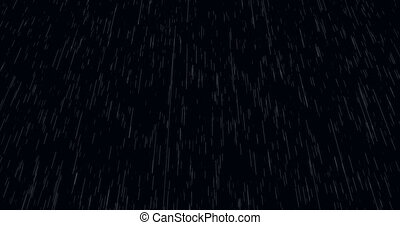 animation - modern falling rain background