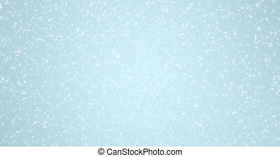 animation - modern falling snow background.