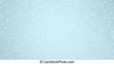 animation - modern falling snow background.
