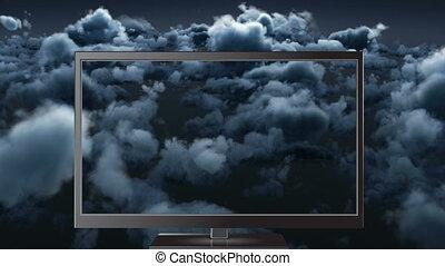 animation, numérique, 4k, tã©lã©viseur