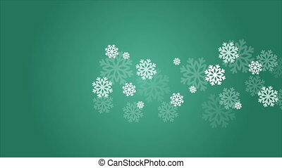 Animation of background for greeting card Christmas