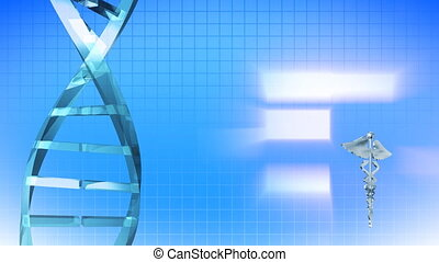 Animation of DNA