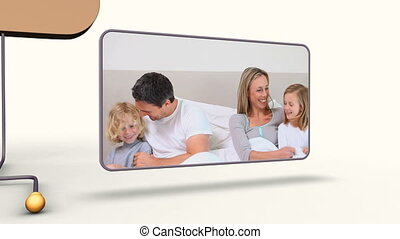 Animation of families