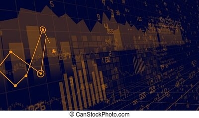 Animation of financial stock