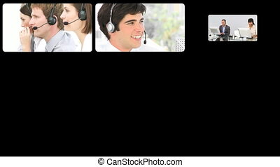 Animation of international customer agents