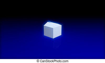 Animation of Magic box opening