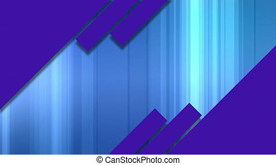 Animation of multiple diagonal purple stripes over vertical ...