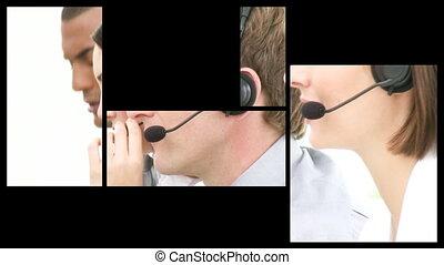 Animation of service customer agent