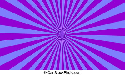 animation of starburst purple