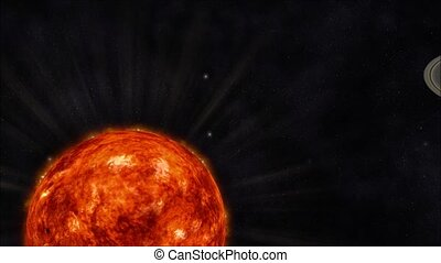 Solar System - Animation of the Solar System