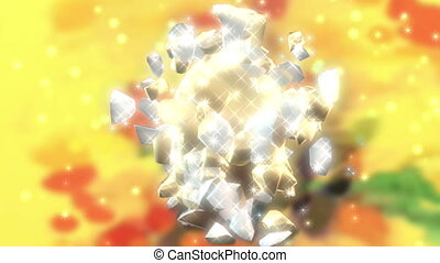 Happy Easter - Animation on Easter - exploding eggs Happy...