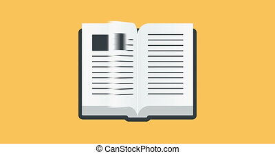 Open book Stock Footage and Video Clips  1,475 Open book