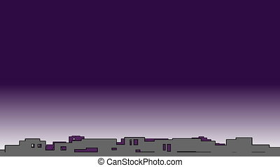 Pollution concept full hd.Chimneys,smog and factory in background