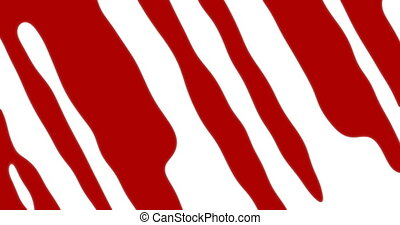 red blood transition pattern background - animation - red...