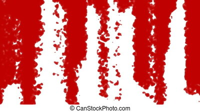 red blood transition pattern background