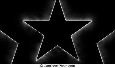 animation, seamless, étoiles
