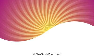 animation., seamless, clair, conception, tourbillon, vidéo, boucle