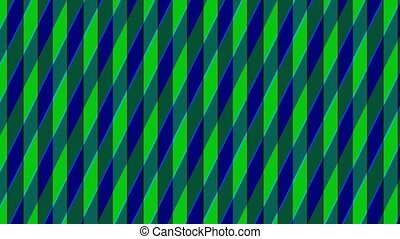animation, stripes., intersected, consister, coloré