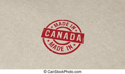 animation, timbre, canada, compostage, fait
