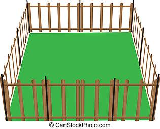animaux, barrière