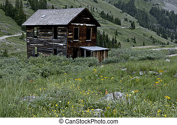 Animus Fork old mining town - The old mining ghost town...