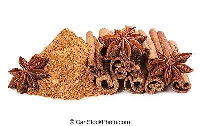 Anis and cinnamon