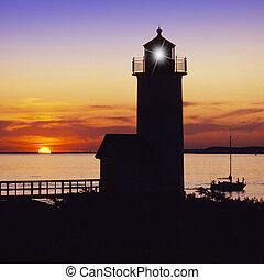 Anisquam lighthouse