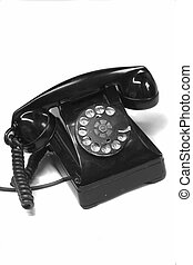 anitique, 1940s, telefone